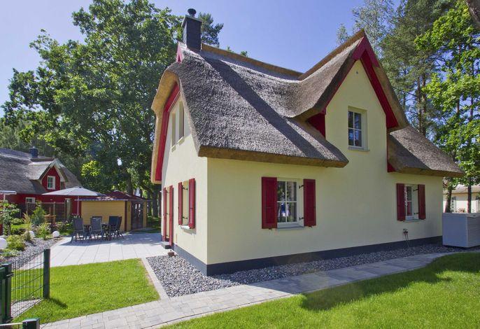 Das strandnahe Reetdach-Ferienhaus Ostseesonne in Glowe