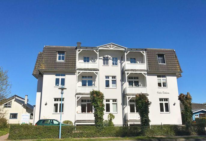 Juliusruh - Villa Daheim - FeWo  Kajüte 12 -  RZV