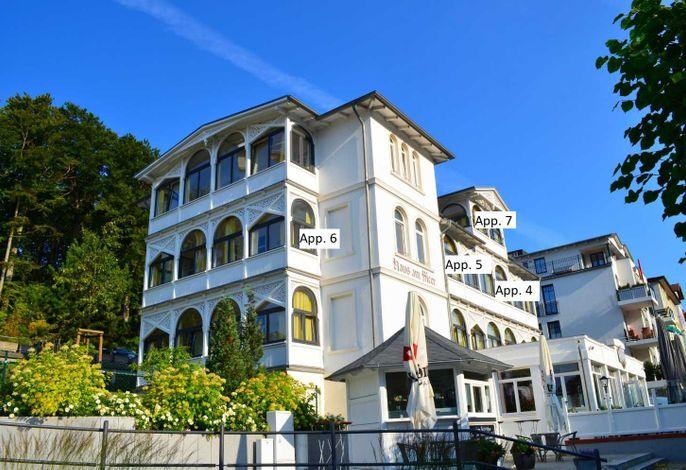 Haus am Meer,  Wintergarten-PH 7, 2 SZ, strandnah