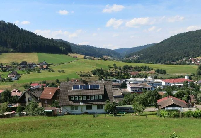 traumhafte Aussicht Richtung Tonbachtal