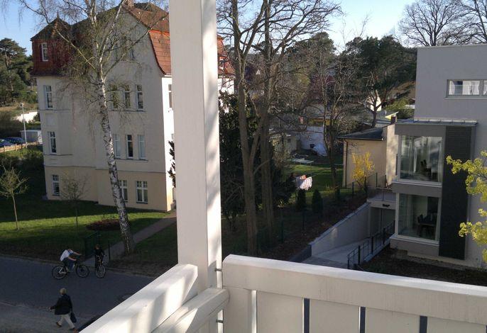 Villa Germania mit Balkon  Fewo Büge Ahlbeck Südseite