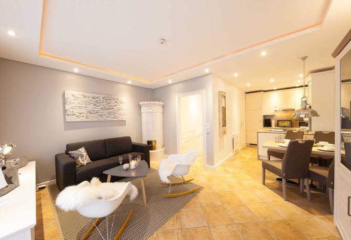 Moderner und offener Wohn- und Essbereich im Erdgeschoss