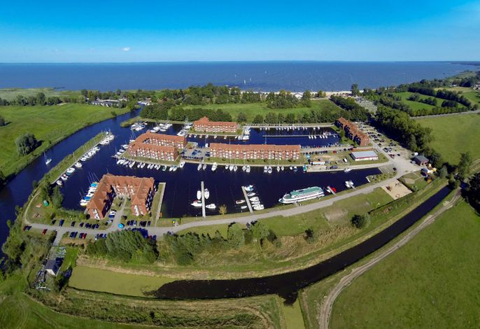 Schöne Ferienwohnung an der Ostsee mit Blick auf Yachthafen