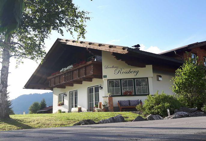 Außenansicht Landhaus Rossberg