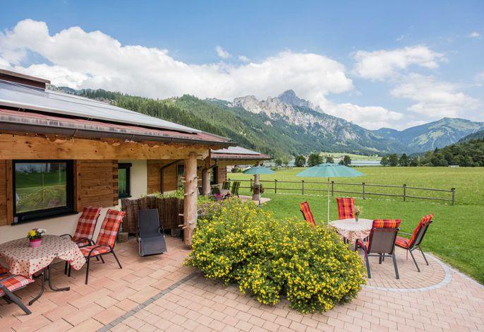 Ansicht Terrasse mit Panoramablick