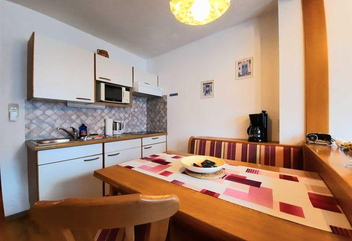 Küchenblock mit Essecke Ferienwohnung II
