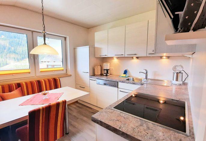 Küche mit Essecke Ferienwohnung IV