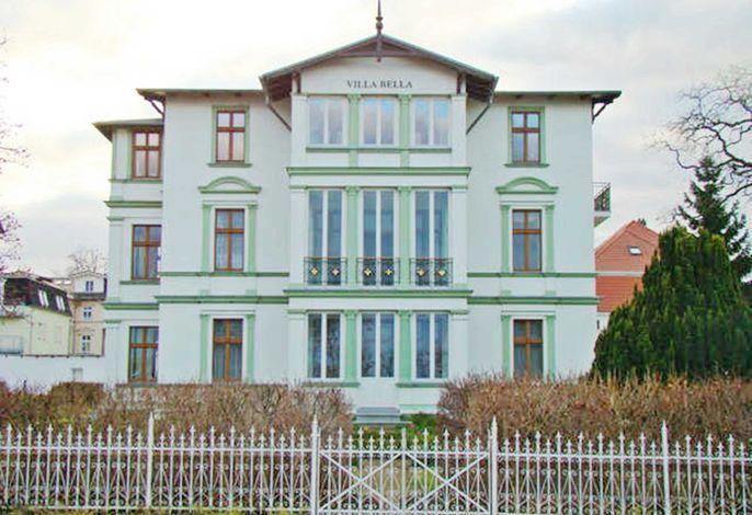 Villa Bella FW 4 mit Meerblick, 1. Reihe