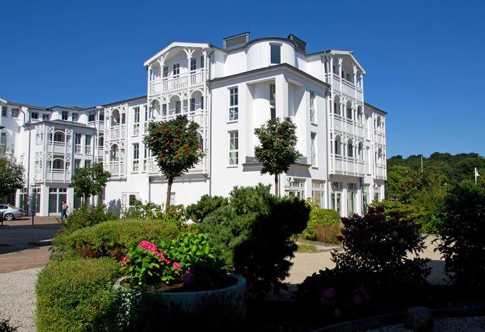 Rügen Vilm  Sellin  Wohnung mit  Balkon  und  Seeblick