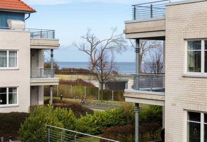 DBL28- Blick vom Appartement auf die Ostsee