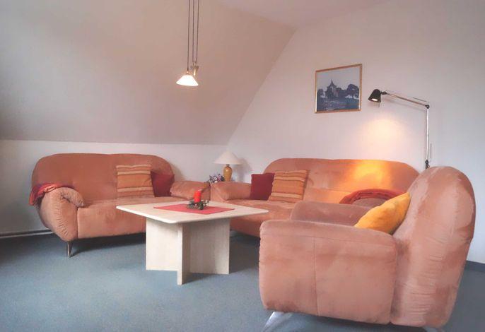 Sitzgruppe im Wohnzimmer