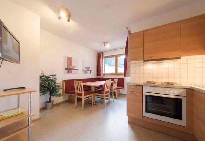 Appartement Aifner, Wohnküche