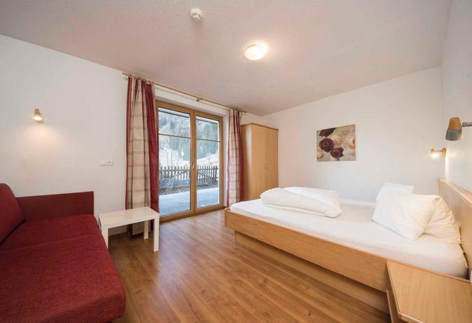 Appartement Falkauns, Schlafzimmer1