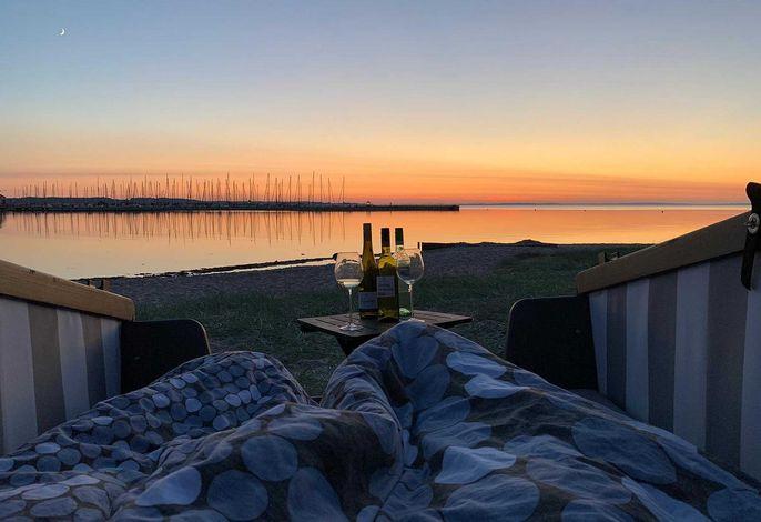 Strandschlafen in Wackerballig