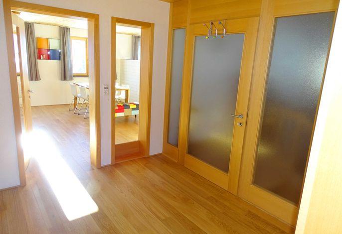 Eingangsbereich Ferienwohnung Rotenberg