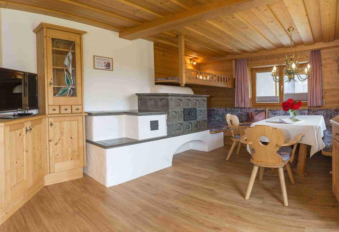 Wohnbereich Appartement Kundler Klamm