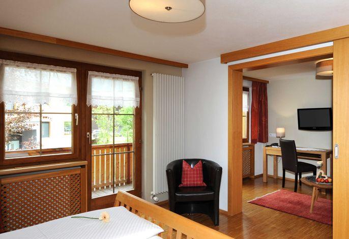 Zimmer Wollgras mit Wohnnische