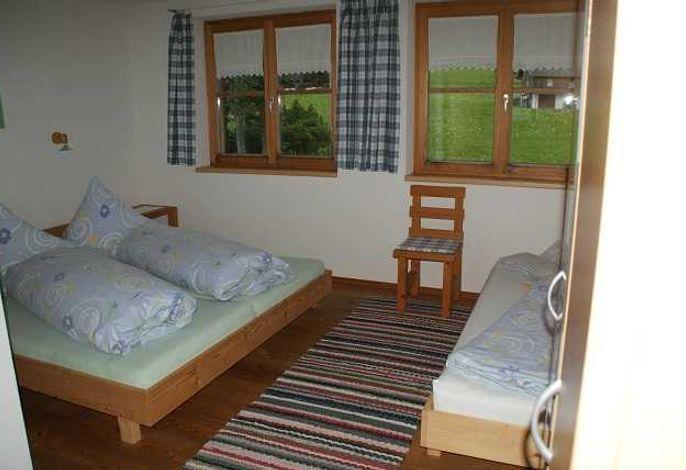 Schlafzimmer für 2-3 Personen