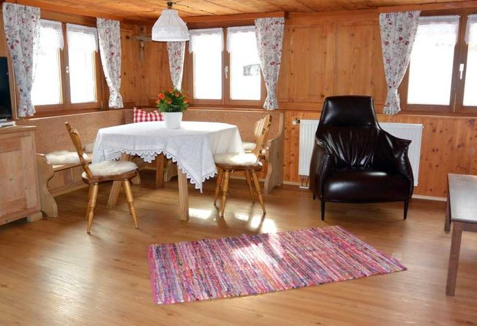 Original Wälderstube im Ferienhaus Arnika