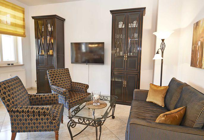 WG 6 im Appartementhaus ATLANTIC - Wohnbereich