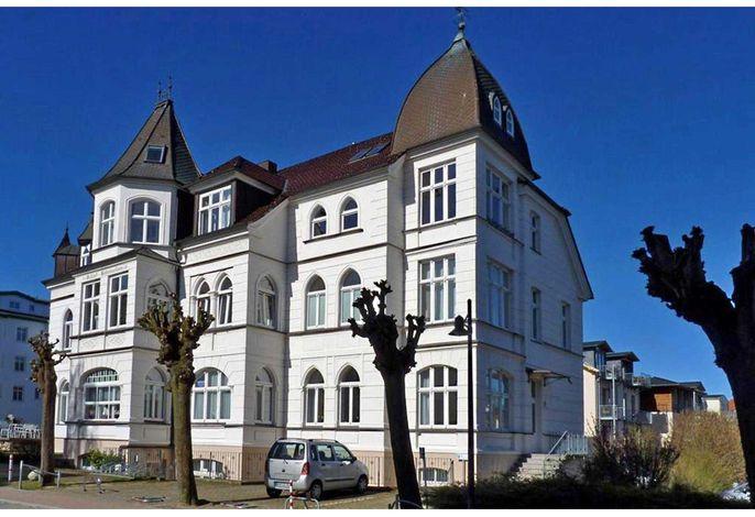 Ahlbeck, Schloss Hohenzollern EG-Meerseite