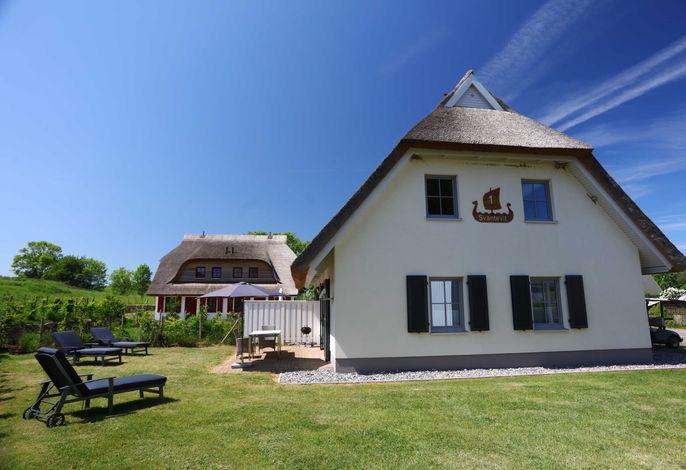 Reet-Doppelhaushälfte Svantevit - strandnah