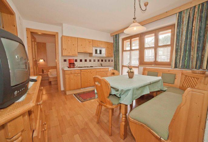 Silvretta, offene Küche, Wohnraum