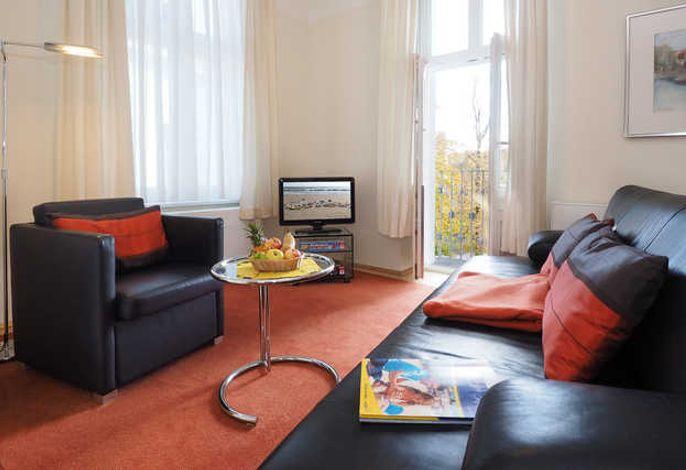 SEETELHOTEL Villa Aurora, 2-Raum-Apartment, Wohnen
