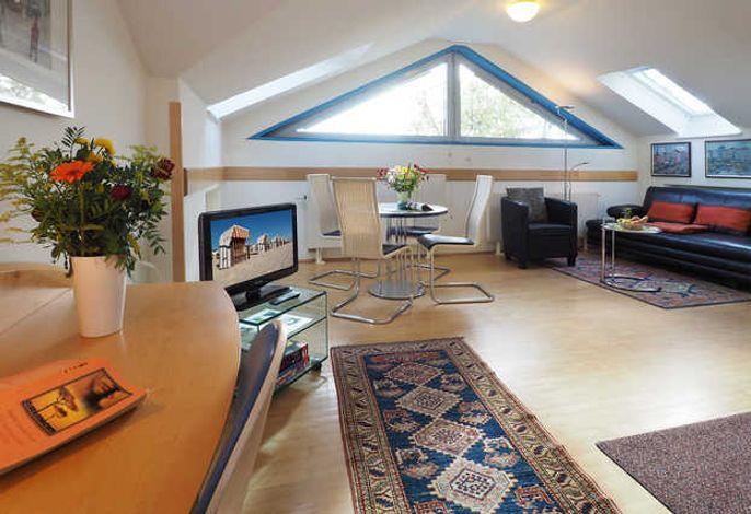 SEETELHOTEL Villa Aurora, 3-Raum-Apartment, Wohnen