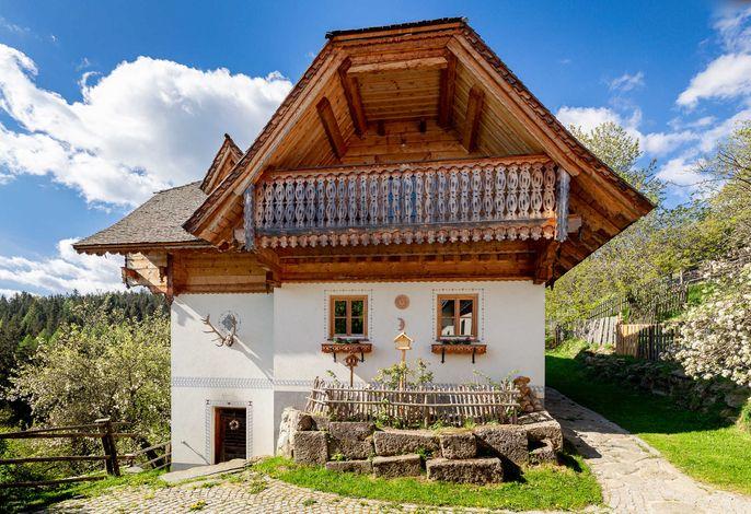 Ferienhaus Vorderansicht / ©Wiener Alpen/Christian Kremsl