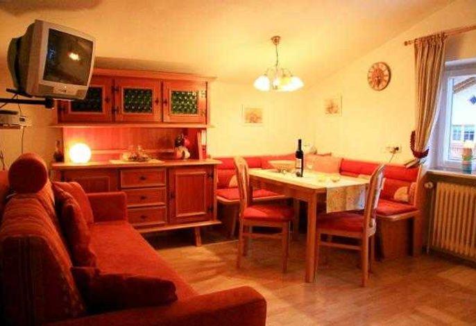 Wohn/ Küche Appartement  Nr. 2