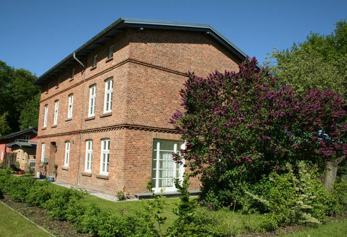 Eisenbahnerhaus in Klausdorf