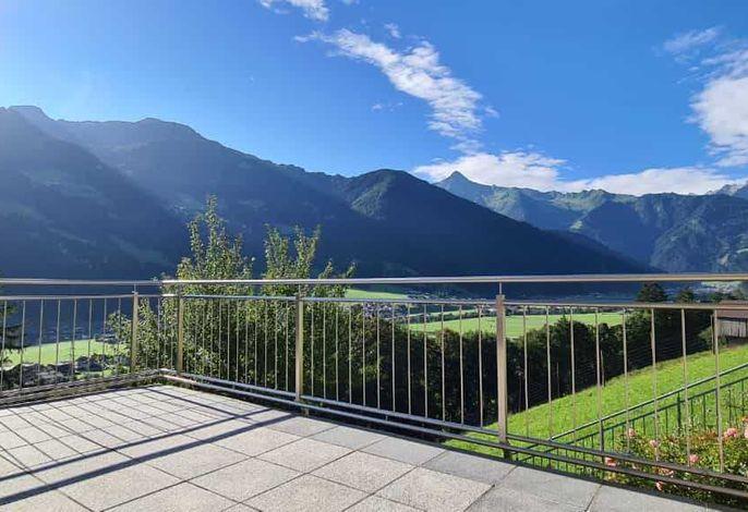 Ausblick von der Alexander-Wohnung auf der Tollen Terrasse