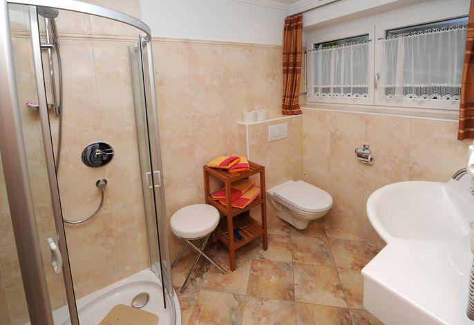 Dusche Serles großes Zimmer