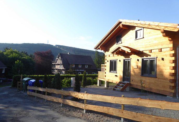 5 Sterne Blockhaus, Panorama Hütte