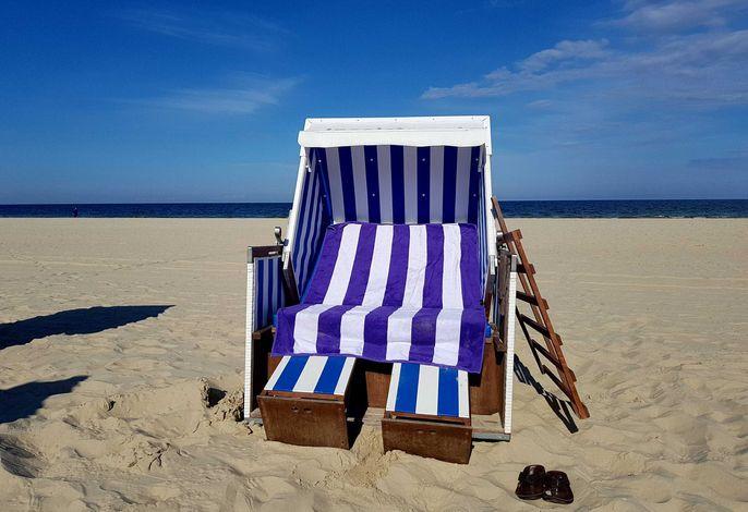 Ihr kostenloser Strandkorb (saisonal)