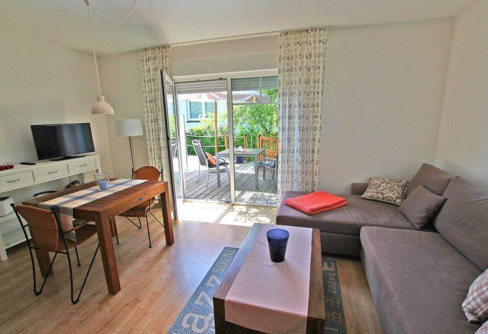 Wohnraum mit Terrassen-Zugang