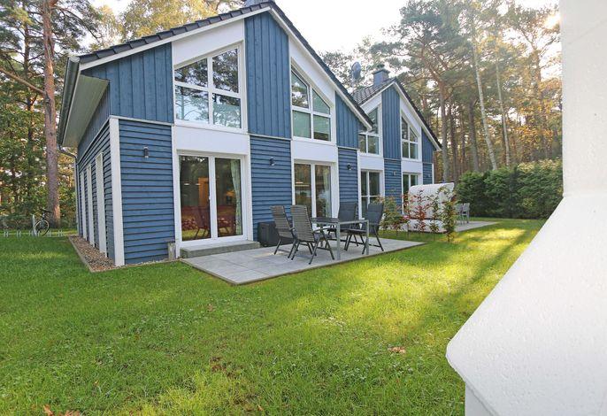 F: Strandhaus Traumland mit Terrasse