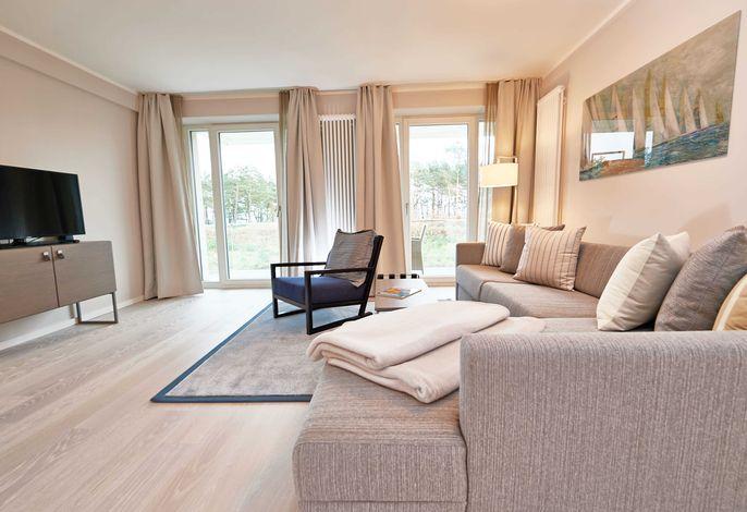 Strandresort Prora WG 114 Wohnzimmer