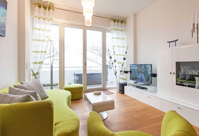 Ostseeresidenz Sassnitz WG 7 - Wohnzimmer