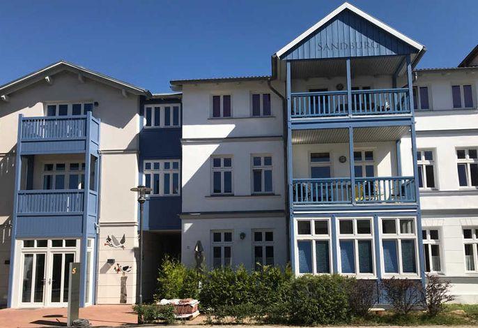 Ferienwohnung Muschel im Ostsee-Domizil Sandburg