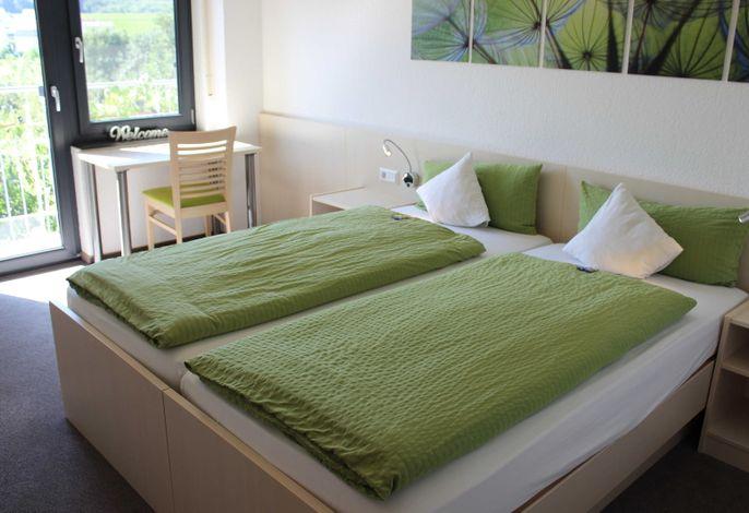 Schlafraum mit Doppelbett (Betten können getrennt werden)
