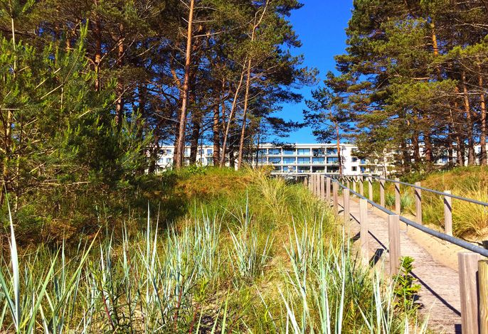 Strandresort Prora F648 WG 201 im 2. OG mit Meerblick