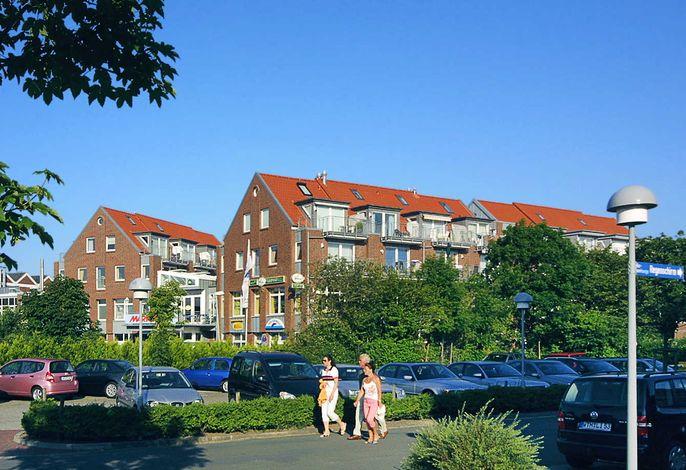 Ferienwohnungen Nordsee Terrassen im Nordseegartenpark