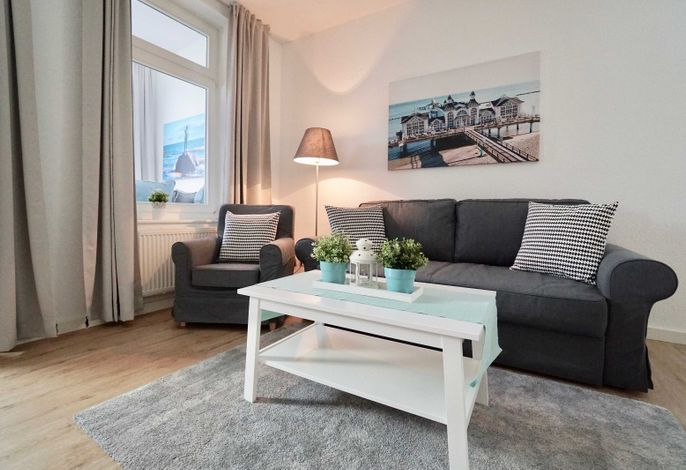 Appartement Ummanz mit Balkon (H)