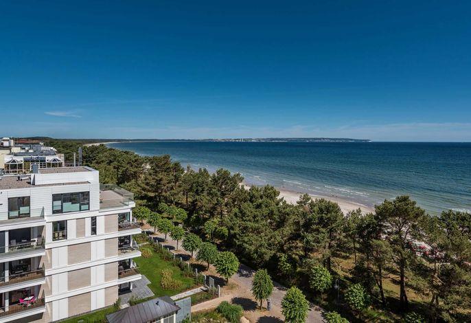 Villa Vogue Binz - Ocean & Soul  mit Panorama-Ostsee-Blick