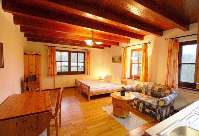 Ferienwohnung mit kombiniertem Wohn-Schlafbereich