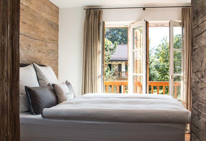 SeeSuite, Schlafzimmer mit Boxspringbett
