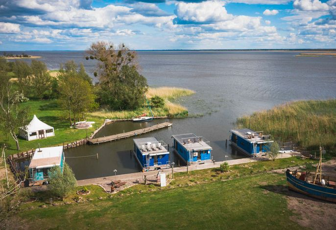 Hafenresort Karnin - Hausboot Hilde