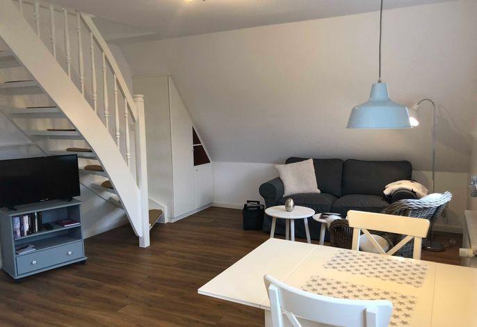 Haus Wattliebe - Kuschelige FeWo in Strandnähe FeWo1